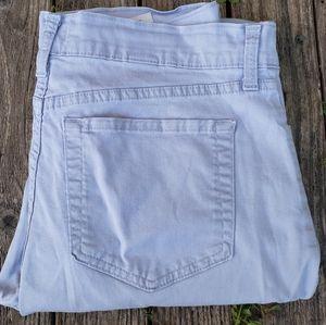 NYDJ 6 Purple Cropped Jeans Capris